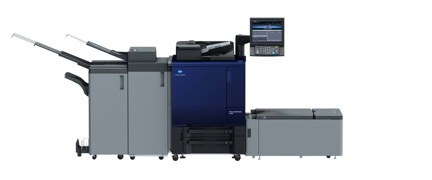 Konica Minolta accurio press c3080 professional printer